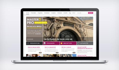 Master 2 Pro | Site Web