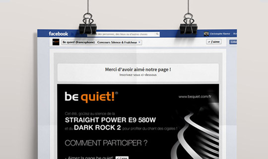 Bequiet! | Facebook Event