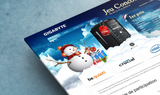 GIGABYTE - Concours E-Marketing