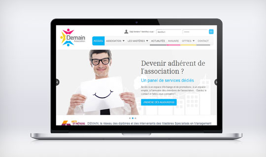 Association Demain | Site Web