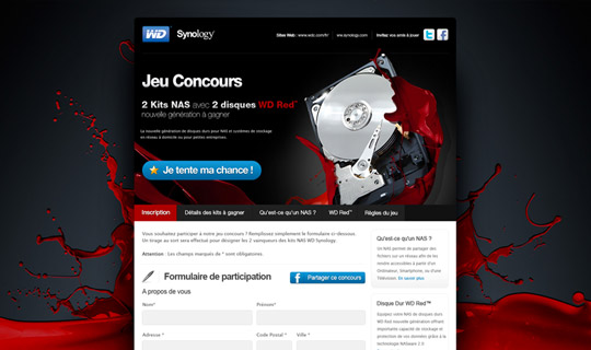 Concours Web WD Red