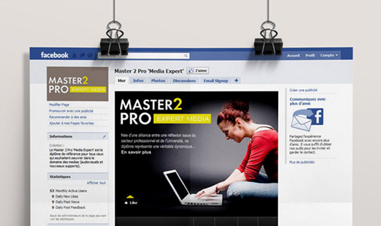 Master 2 Pro | Page Facebook