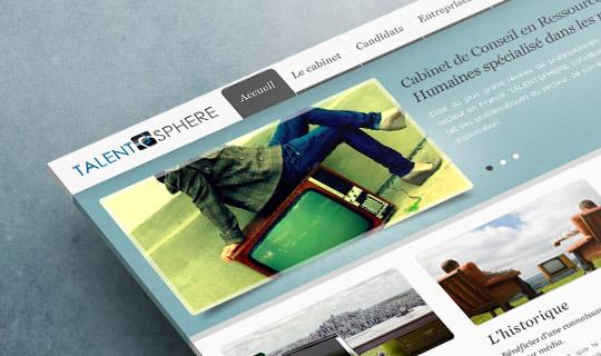 Talent Sphere | Site Web