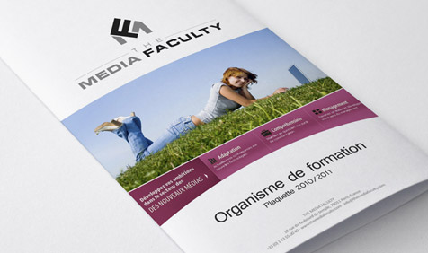 The Media Faculty | Plaquette Corporate