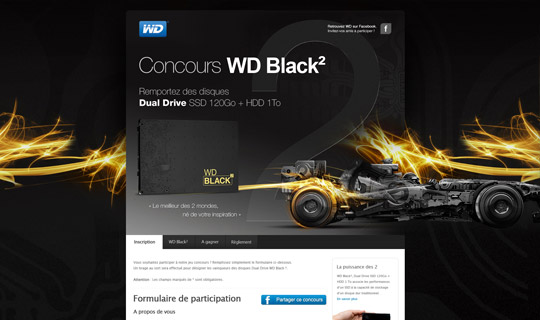 Concours Web WD Black2